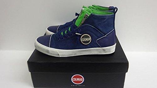 Scarpe sneaker uomo/donna Colmar Originals mod. MU Durden Colore 007 - Navy Green Taglia 44