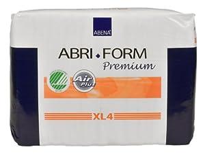 Abena Abri-Form Premium Brief, Extra Large, XL4, 12 Count from Abena