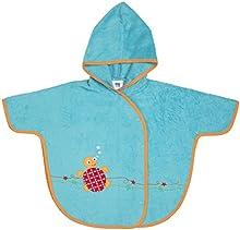 Comprar Bambino Mio - Poncho-toalla con capucha, diseño de bajo el mar