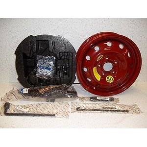 2011-13 Hyundai Sonata Hybrid Spare Tire Kit (Oem Comes with Tire Mounted on Rim) from Hyundai