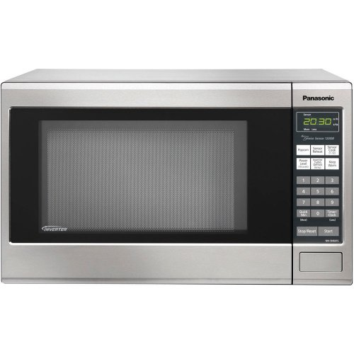 New Panasonic NN-SN661S Genius 1.2 cuft 1200-Watt Sensor Microwave with Inverter Technology, Stainle...
