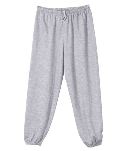 Badger Youth Elastic Waist Performance Sweatpant, Oxford , Large