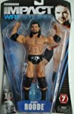 TNA DELUXE IMPACT 7 BOBBY ROODE WRESTLING ACTION FIGURE