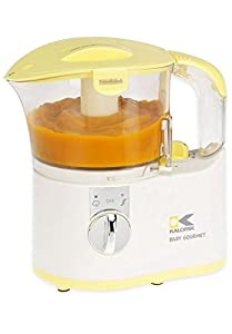 Kalorik Chopper/Baby Food Maker, White/Yellow, 2-Cup from Kalorik
