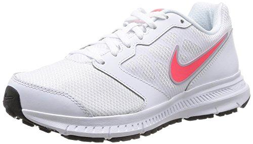 Nike Wmns Downshifter 6 Scarpe da ginnastica, Donna, Bianco (White (White/Hyper Punch-Lite Magnet Grey)White/Hyper Punch-Lite Magnet Grey), 41 EU