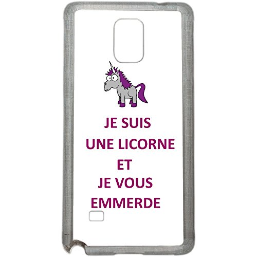 Aux-Prix-Canons-Etui-housse-coque-humour-licorne-je-t-emmerde-Samsung-Galaxy-Note-4