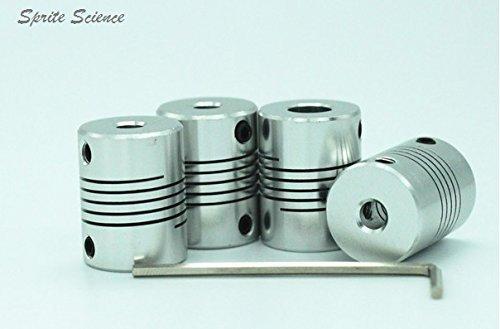 sprite-sciencetm-4pcs-aluminum-shaft-coupler-5mm-x-8mm-flexible-coupling-for-3d-printer-with-free-al
