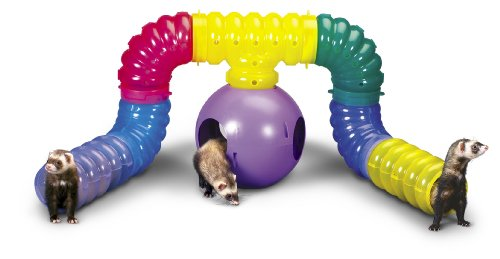 Super Pet FerreTrail Fun-nel Playground Tube Kit, Colors Vary