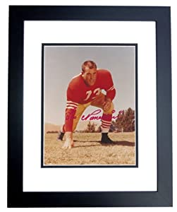 Leo Nomellini Autographed Hand Signed San Francisco 49ers 8x10 Photo - BLACK CUSTOM... by Real Deal Memorabilia