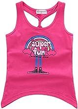 Maohonore Girls39 Round Neck Vest Top Cartoon Super Fun Print