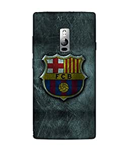 chnno Fcb 3D Printed Back cover for OnePlus 2 -Multicolor