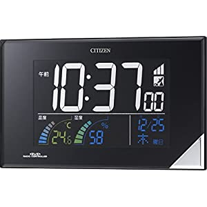 CITIZEN(シチズン) 電波目覚まし時計 パルデジットネオン119 8RZ119-002