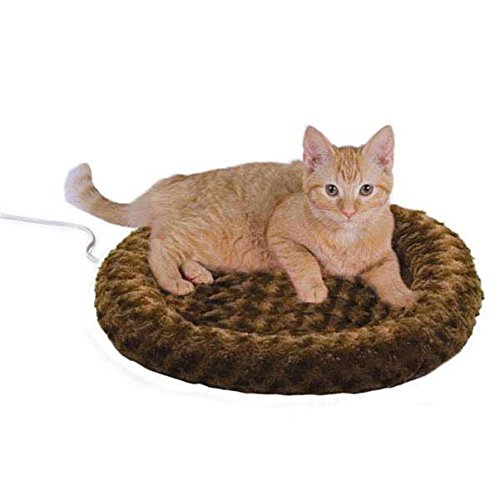 Thermo Kitty Fashion Splash Heated Cat Mat, Mocha