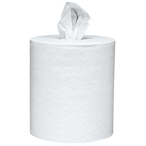 Scott  01032 Roll-Control Center-Pull Towels, 8 x 12, White, 700/Roll, 6 Rolls/Carton (White Center compare prices)