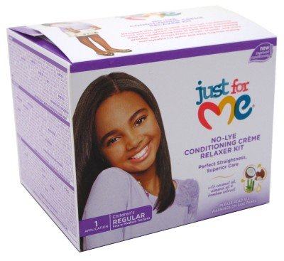 Just For Me No-Lye condizionata Creme Relaxer Kit - Regolare