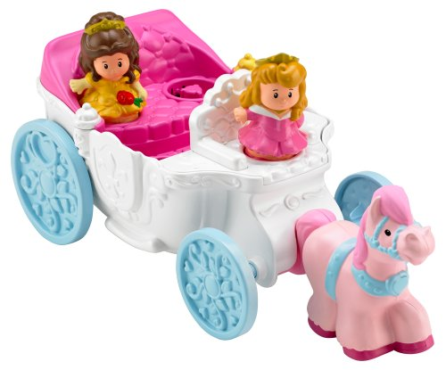 Fisher-Price Little People Multi Princess Coach - 1