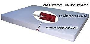 anti punaise de lit housse de matelas ange protect 140 x 190 200 x 20 cuisine maison. Black Bedroom Furniture Sets. Home Design Ideas