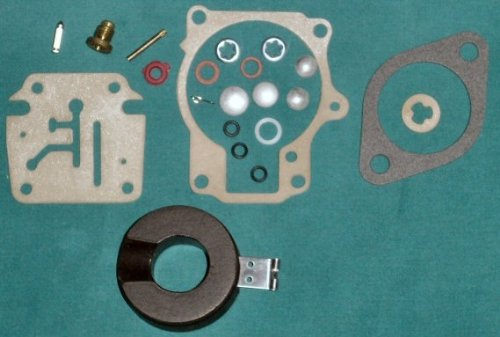 Carburetor Repair Kit for Johnson Evinrude 18-75 HP Replaces 396701 and Includes Float!