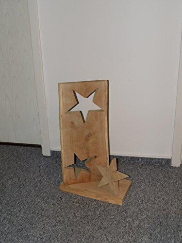 weihnachtsdeko stern baumscheibe deko holzbrett eiche. Black Bedroom Furniture Sets. Home Design Ideas