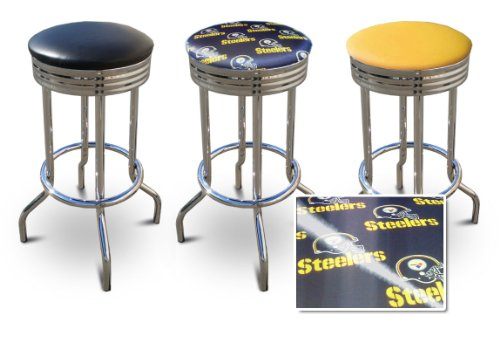 29'' Specialty Chrome Barstools Pittsburgh Steelers