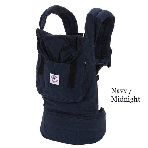 Ergobaby Organic Baby Carrier - Navy Midnight - One Size (Ergobaby Organic Baby Carrier compare prices)