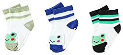 Wonderkids 3 Piece Print Socks (1-2 Years)
