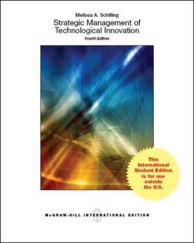Strategic management of technological innovation (Economia e discipline aziendali)