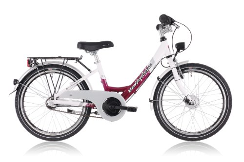 Vermont 203 childrens bike 20 inch Girl, white/pink pink/white (2013)