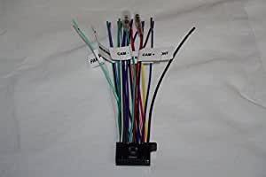 wire harness for kenwood 22 pin labeled kw. Black Bedroom Furniture Sets. Home Design Ideas