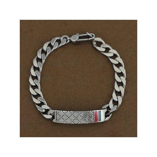 GUCCI 295676-J89L0-8518-18 SILVER Bracelet グッチ アクセサリー シルバー ブレスレット(並行輸入品)
