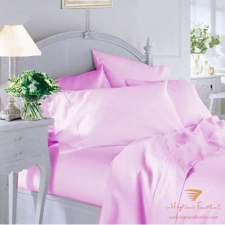 Lacquer Red Color Twin Extra-Long Fitted Sheet -200Tc 50% Percale Cotton Solid Color 39X80+13'' front-1028930