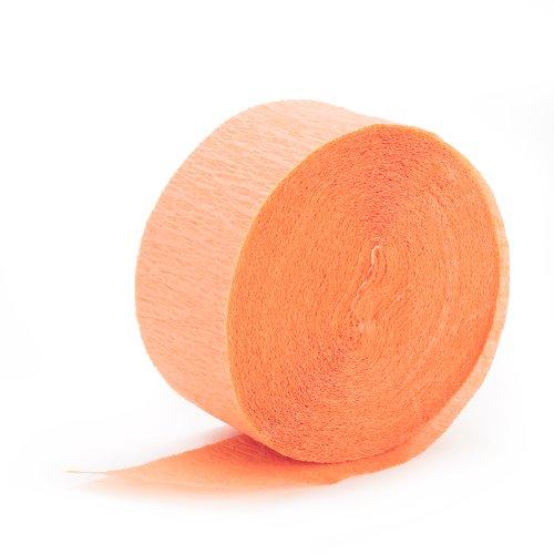 Peach Crepe Paper (Peach Party Streamer compare prices)
