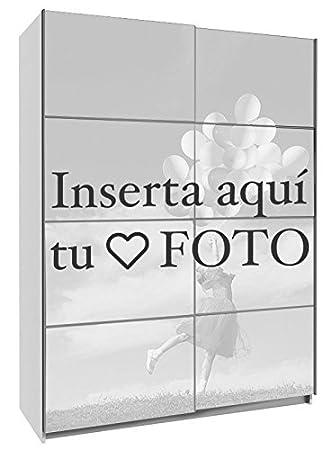 Armario ropero, PERSONALIZADO CON TU FOTO, Margarita 150 impreso completo