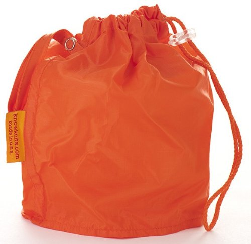 Orange Small GoKnit Pouch Project Bag