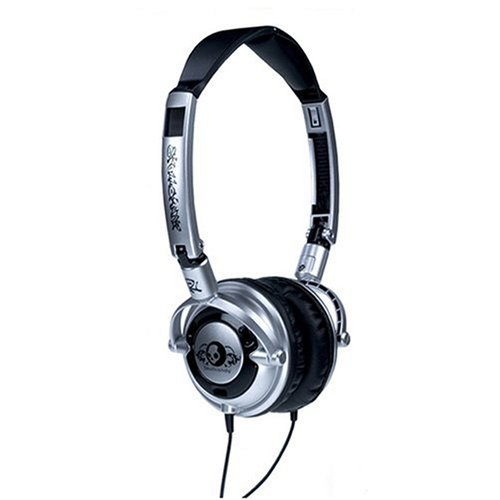 41s4ec%2Bj3UL. SS500  Skullcandy SC LOW/MacSlvr Lowrider Headphone   $18 + S&H