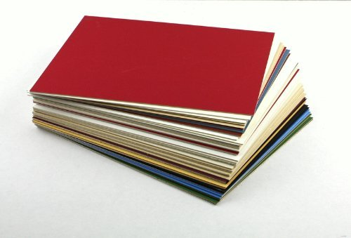 Uncut-Mat-Board-Variety-Assorted-Colors