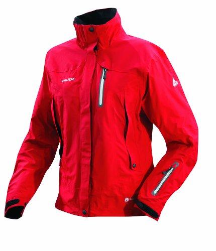 VAUDE Regenjacke Damen Women's Cervin Jacket, hibiscus, 46