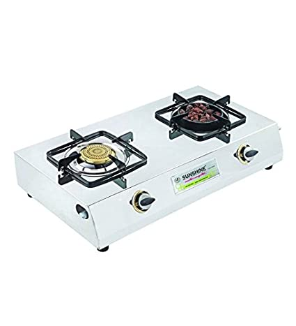 Sunshine SS 2 LB Gas Cooktop (2 Burner)