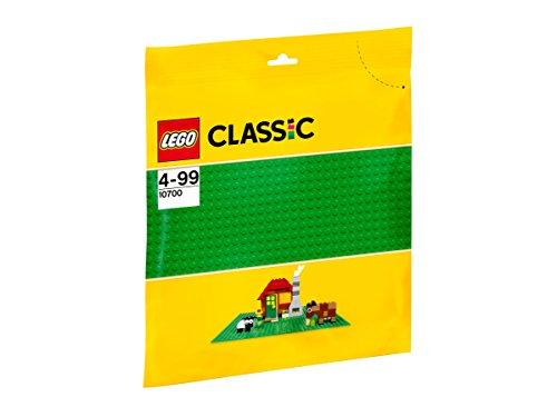 LEGO Classic 10700 - Base Gioco di Costruzioni, Verde