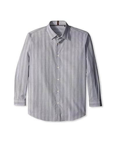 Ben Sherman Men's Mini Check Super Slim Fit Shirt
