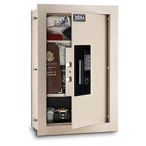 MWES2113 Large Adjustable/Expandable Heavy Duty Electronic Wall Safe Only $199.99 (Mesa Safe Co compare prices)
