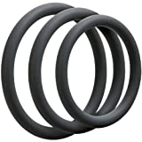 Doc Johnson Optimale 3 C-Ring Set Thin - Slate