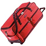 Jeep Extra Large 31&#8221; Wheeled Luggage Bag (Red)