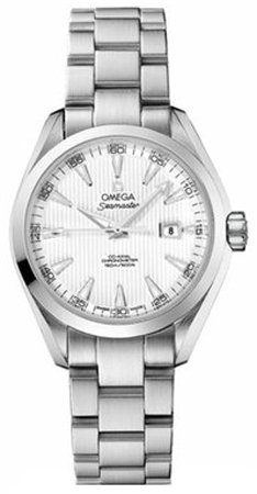 NEW OMEGA AQUA TERRA AUTOMATIC LADIES WATCH 231.10.34.20.04.001