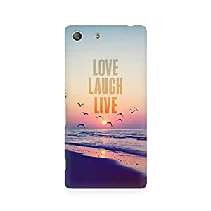 Ebby LLL Premium Printed Case For Sony Xperia M5