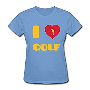 Love Golf T-Shirt For Women,Funny Tee Shirt