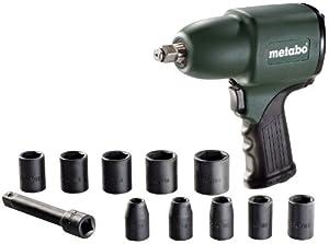 Metabo 6.04118.50 DruckluftSchlagschrauber DSSW360 Set 360 Liter/min  BaumarktÜberprüfung und Beschreibung