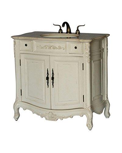 Lovely  Antique Style Single Sink Bathroom Vanity Model BE