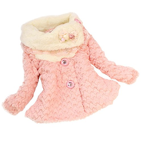 FEITONG Baby Girls Kids Toddler Clothes Winter Coat