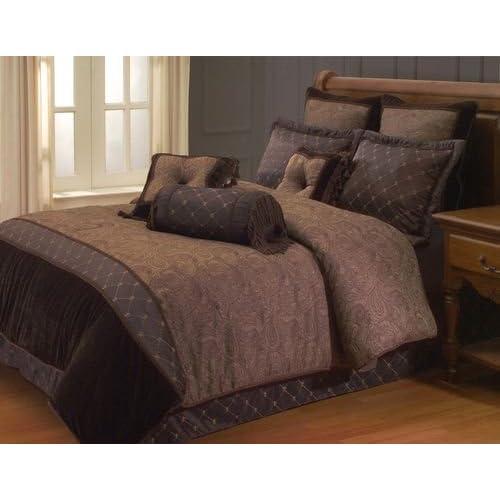 Trend Hallmart Collectibles Kathy Ireland Estate Classic King Size Comforter Set Piece